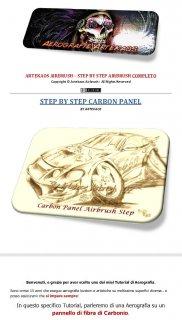 CARBON PANEL AIRBRUSH TUTORIAL